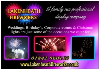 Lakenheath Fireworks
