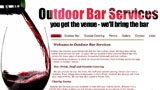 Outdoor Bar Services