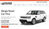 Range Rover Car Hire