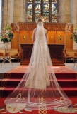 ANN GUISE Silk Wedding Veils